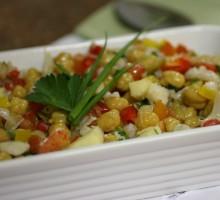 salada de bacalhau - foto