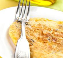 omelete de claras